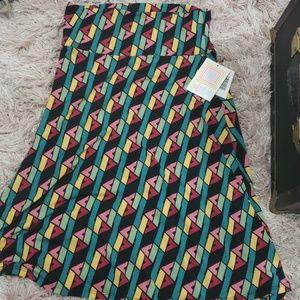 💥 BNWT high waist LULAROE AZURE skirt teal
